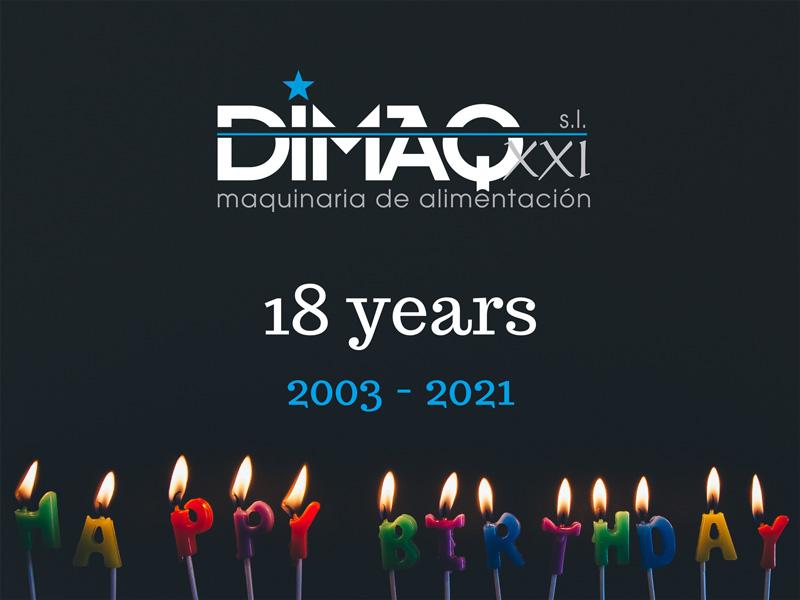 aniversary dimaq - 18 years